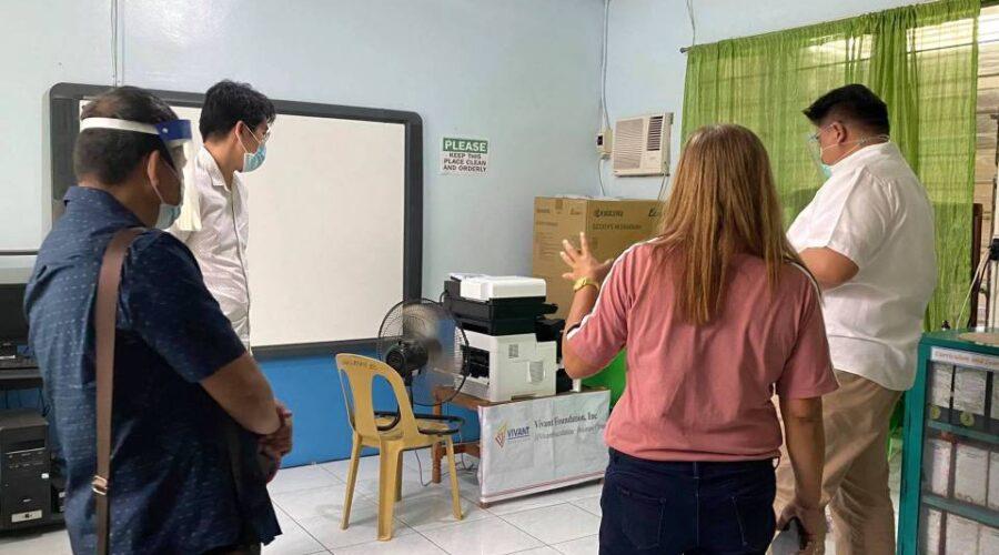 Vivant supports distance learning in La Union, Pampanga